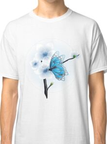 Joy Of Spring Case - Spring Blossom & Blue Butterfly Classic T-Shirt