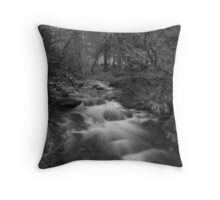 Just Flowing Throw Pillow