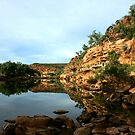 Ross Graham Lookout, Kalbarri National Park by Miriam Shilling