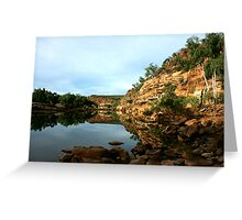 Ross Graham Lookout, Kalbarri National Park Greeting Card