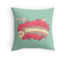 Jelly heart Throw Pillow