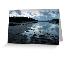 Wittecarra Creek, Kalbarri Greeting Card