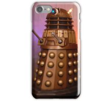 Gold Doctor Who Dalek from 2005 iPhone Case/Skin
