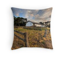 The Shearing Shed Throw Pillow