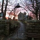 Easington Church Sunset 1 by dougie1