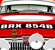 MGB Works rally car 1964 Sticker