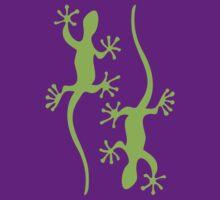 Two green geckos Tee T-Shirt