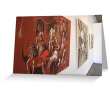 Homage to Caravaggio Greeting Card