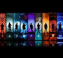 Doctor Who All Doctors by CindyetBilly