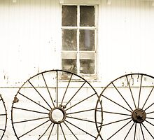 Old Tractor Wheels by infullbloom