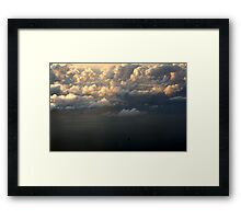 The Oil Rig Framed Print