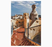 Gaudi's Fascinating Rooftop – Impressions Of Barcelona Baby Tee