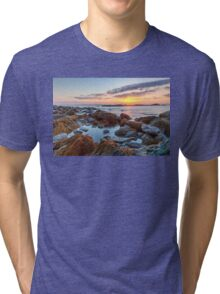 Sunrise at Sachuest Point Wildlife Refuge II Tri-blend T-Shirt