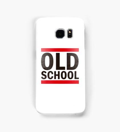 OLD SCHOOL Black Samsung Galaxy Case/Skin