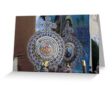 Religious Icons Greeting Card