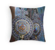 Religious Icons Throw Pillow
