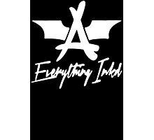 Everything Inked Funny Geek Nerd Photographic Print