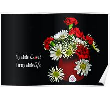 Say It With Flowers Poster