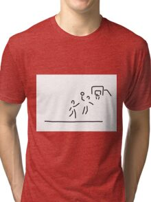basketball usa basketball player Tri-blend T-Shirt