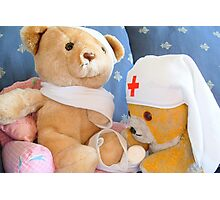 Fred Bear Thinks First Aid is Fun Photographic Print