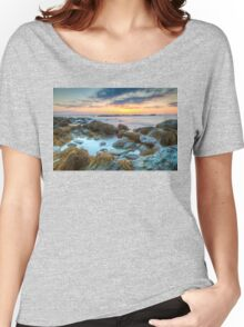 Sunrise at Sachuest Point Wildlife Refuge  Women's Relaxed Fit T-Shirt