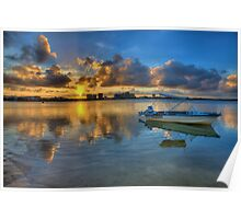 Maroochy Sunset-0502-4 Poster