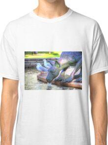 Kangaroos In The City 2 - Perth WA - HDR Classic T-Shirt
