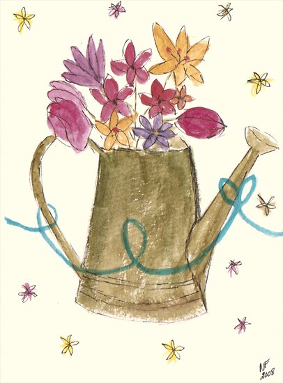 Flower pot by Istvan Hernadi