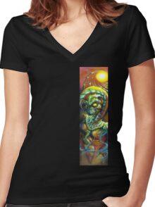 Mummi-Fi Women's Fitted V-Neck T-Shirt