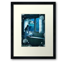 My Imaginary World Framed Print