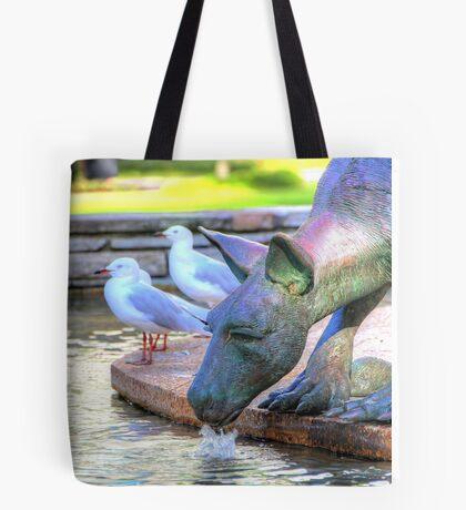 Kangaroos In The City 2 - Perth WA - HDR Tote Bag