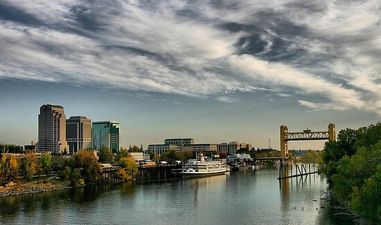Sacramento Waterfront by Barbara  Brown