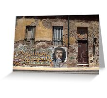 Old house in San Telmo Greeting Card