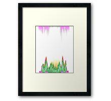 glitchy witchy  Framed Print