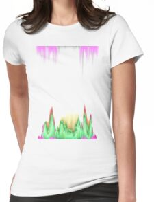 glitchy witchy  Womens Fitted T-Shirt