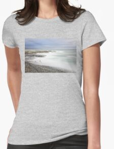 Mystic Seascape Womens Fitted T-Shirt