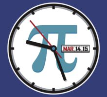 Ultimate Pi Day 2015 Clock by justinglen75
