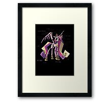 My Little Pony Queen Chrysalis/Princess Cadence Animatronic Framed Print