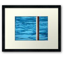 The Pool Framed Print