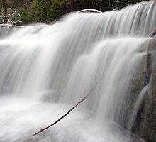 Stockbridge Falls - Detail by Stephen Beattie