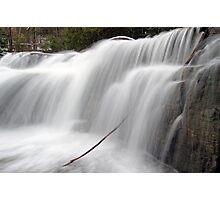 Stockbridge Falls - Detail Photographic Print