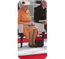 "Her Majesty the Queen officially named Britannia in Southampton"" iPhone Case/Skin"