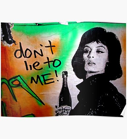 Don't Lie To Me Poster
