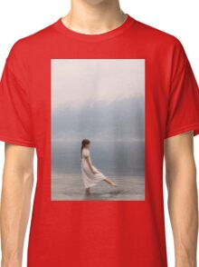 wading in water Classic T-Shirt