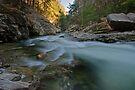 Lower Gorge - View Downstream by Stephen Beattie