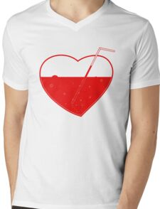 Suck my heart out!11 — white Mens V-Neck T-Shirt