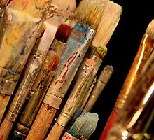 An Artist's Tools by JustM