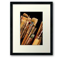 An Artist's Tools Framed Print
