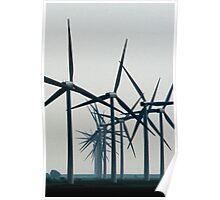 Wind Turbine Parade Poster