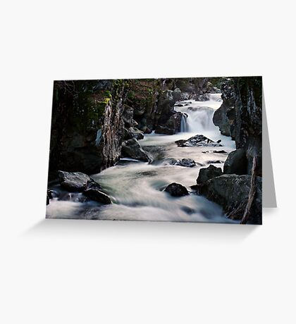 The Lower Gorge Greeting Card